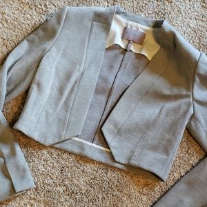 Halston Heritage Crop Jacket